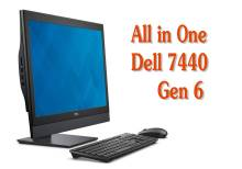 All in One Dell OptiPlex 7440, Core i5 Gen 6, 16GB, SSD 240G 24in LED IPS